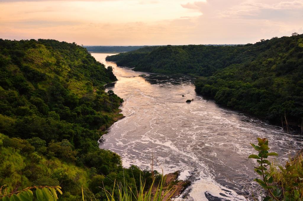উগান্ডাতে নীলনদ (ছবি: Rod Waddington)